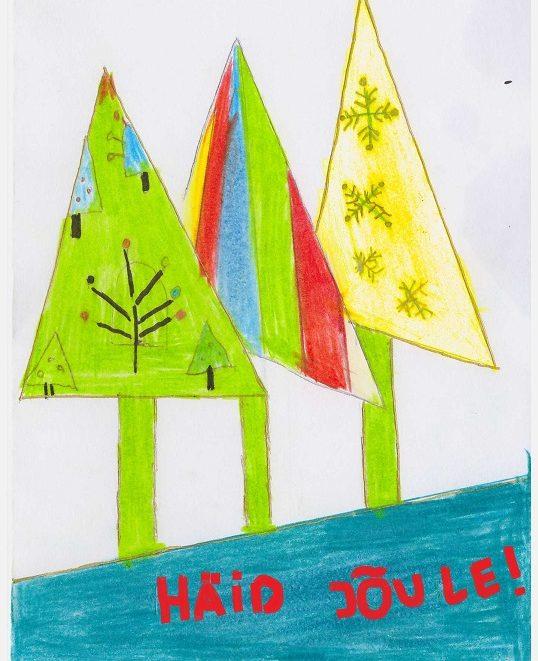 EO Eesti Ühendus jõulukaart